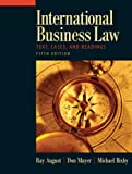 img - for International Business Law (5th Edition) book / textbook / text book