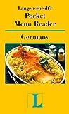 Pocket Menu Reader Germany (Langenscheidt's Pocket Menu Reader) (0887293107) by Langenscheidt
