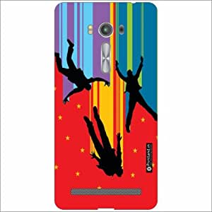 Asus ZenFone 2 Laser ZE550KL Back Cover - Silicon Neon Designer Cases