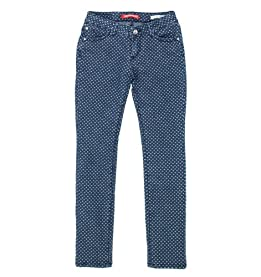 Girls Maggie Heart Dot Jeans