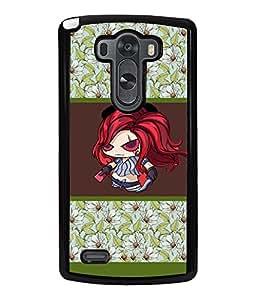 Printvisa 2D Printed Girly Designer back case cover for LG G3 - D4414