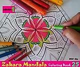 Zahara Mandala Coloring