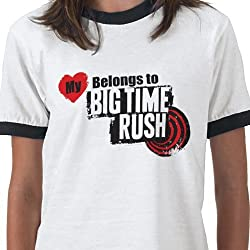 Big Time Rush: My Heart Belongs to BTR Tee - Youth
