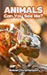 ANIMALS: Can You See Me?: Animals Boo...