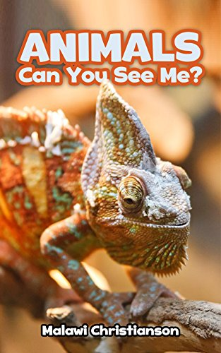 Malawi Christianson - ANIMALS: Can You See Me?: Animals Books For Kids - Ages 3-8