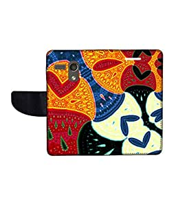 KolorEdge Printed Flip Cover For Motorola Moto G -Multicolor (45KeMLogo11067MotoG)