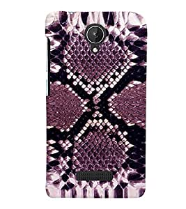 PRINTVISA Abstract Pattern Case Cover for Micromax Canvas Spark Q380