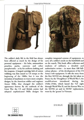 American Web Equipment 1910-1967 (Europa Militaria)