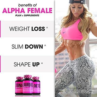SHREDZ® Alpha Female Plan + Supplements - Burn Fat, Tone Muscle, Shape Up!