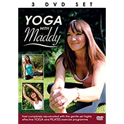 Yoga With Maddy - Yoga & Pilates Excerise Programme