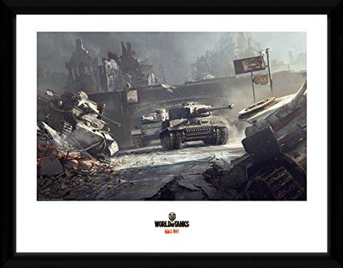GB eye LTD, World of Tanks, German Tanks, Foto incorniciata, 40 x 30 cm