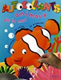 Animaux de la mer : J'apprends, je colle, je m'amuse