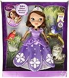 Princesa Sofía - Muñeca y animalitos parlanchines (Mattel BBM28)
