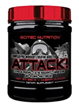 Scitec Nutrition ATTACK - Complex Pre-Workout Creatine Booster 320g