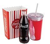 Coca Cola Acrylic Cup & Melamine Popcorn Holder