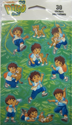 Nickleodeon Go Diego Go! - 30 Stickers by Kid Squad - 1