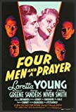 Four Men and a Prayer - 映画ポスター - 27 x 40