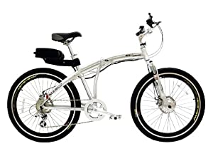Prodeco Genesis Folding Electric Bike- Lithium Powered, 17+mph, 25 Mile Range, 2 Year Warranty, Built in the USA!