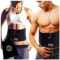 Waist Trimmer Ab Belt (Pocket Edition) – Adjustable Weight Loss Sauna Belt For Men & Women With FREE…
