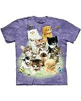 The Mountain 100% Cotton 10 Kittens T-Shirt