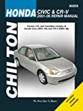 Honda Civic & CR-V, 2001-2006 (Chilton's Total Car Care Repair Manuals)
