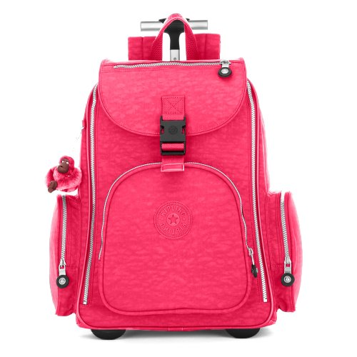 Kipling Alcatraz II Wheeled Backpack, Vibrant Pink, One Size