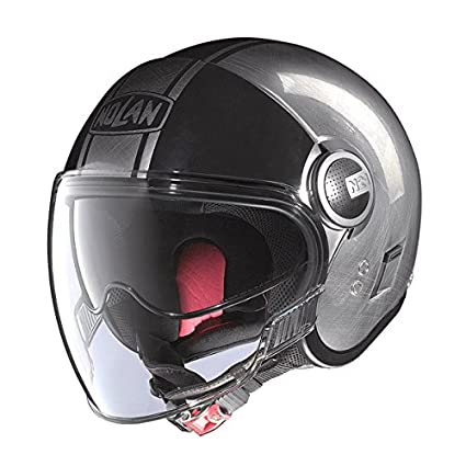 NOLAN - Casque N21 Visor Duetto Scratched Chrome