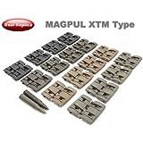 【ダミーカート2本付】MAGPULタイプレプリカ XTM レイルパネル 4色セット(32ピース)