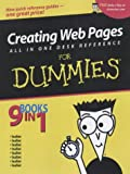 Creating Web Pages All-in-One Desk Reference For Dummies (076451542X) by Vander Veer, Emily A.