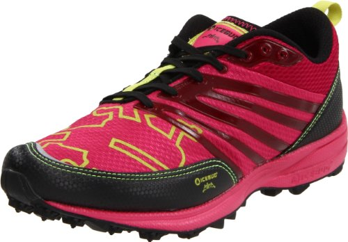 Icebug Women's Anima BUGrip Running Shoe,Cerise/Cherry,6.5 M US