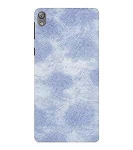 EPICCASE clouds Mobile Back Case Cover For Sony E5 (Designer Case)