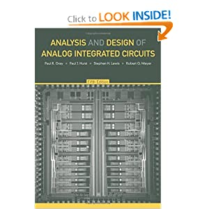 Analysis And Design Of Analog Integrated Circuits Solution Manual Download