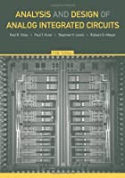 Analysis and Design of Analog Integrated Circuits, 5th Edition ebook download