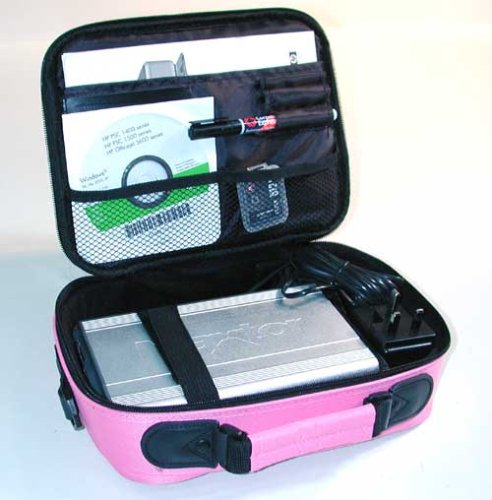 7&quot;-9.5&quot; Inch Netbook Case Bag Ultraportable Laptop Case in Pink