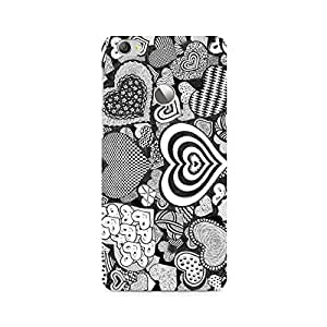 Ebby Heart Doodle Premium Printed Case For LeEco Le 1S