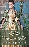 If The Viscount Falls (Thorndike Press Large Print Romance Series)
