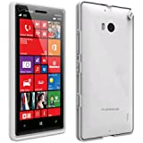 Puregear Slim Shell Case for Nokia Lumia 929 - Retail Packaging - Coconut Jelly