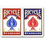 4 Decks of Bicycle Playing Cards (2 x Red & 2 x Blue)