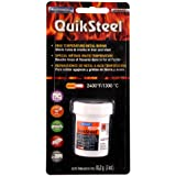 Blue Magic 18003 QuikSteel High Temperature Metal Repair Blister Card - 3 oz.