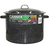 Columbian Home Prod. 0707-3 Graniteware Covered Preserving Canner-21QT CANNER