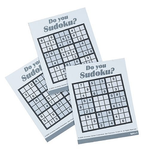 Cheap University Games Corp. Do You Sudoku? Card Game (B000B5MV88)