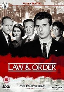 Law & Order - Season 4 - Complete [1993] [DVD]