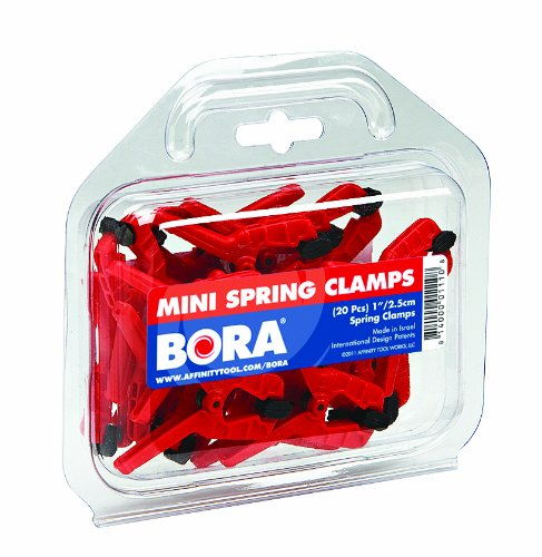 BORA 540520 20-Piece mini spring clamp