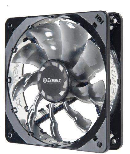 Enermax T.B. Silence 120Mm Ultra Quiet Twister Bearing Cooling Fan, Black Uctb12