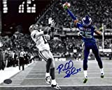 Richard Sherman Autographed/Hand Signed Seattle Seahawks 8x10 Photo The Tip RS Holo ID #73480 at Amazon.com