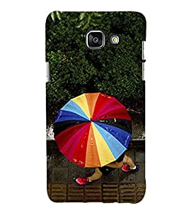 Multicolour Umbrella 3D Hard Polycarbonate Designer Back Case Cover for Samsung Galaxy A3 (2016) :: Samsung Galaxy A3 2016 Duos :: Samsung Galaxy A3 2016 A310F A310M A310Y :: Samsung Galaxy A3 A310 2016 Edition