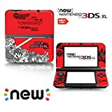 Ci-Yu-Online VINYL SKIN [new 3DS XL] - Super Smash Bros. Red - Limited Edition STICKER DECAL COVER for NEW Nintendo 3DS XL / LL Console System