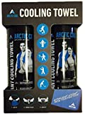 ARCTIC COOL 2 Pack Towels Arctic Cool Ultra Leightweight Workout Blue Mesh Cooling Towel (2-Pack)