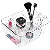 Best Almay Eyelash Mascaras - mDesign Cosmetic Organizer Tote for Vanity Cabinet to Review
