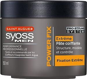 St Algue - Syoss Men - Pâte Coiffante - Power Fix - Pot 150 ml